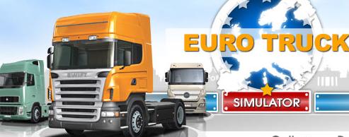 le premier jeu de simulation de camion euro truck simulator actujeuxpc. Black Bedroom Furniture Sets. Home Design Ideas